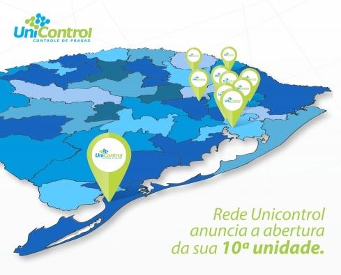 Rede Unicontrol anuncia a abertura da sua 10ª unidade.