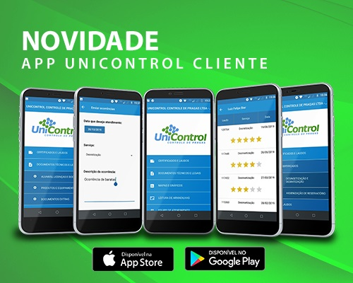 Lançamento do aplicativo Unicontrol Cliente